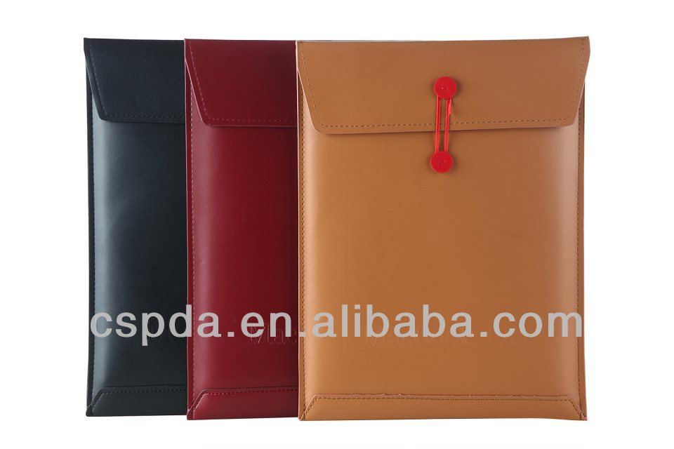 High End Book Pouch Pro Air Cover Universal Pouch for Mac Book Air Pro Leather Protect Sleeve