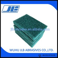 Abrasive Industrial scouring pad for polishing metal /wood/stone/glass/furniture/stainless steel