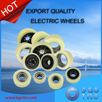 warehouse electric forklift pallet Polyurethane pu wheels and tire