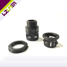 WZUMER Waterproof PG M thread Union For Flexible Pipe plastic hose fitting nylon hose coupler connection