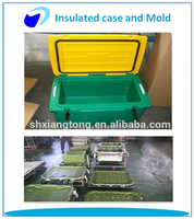 Rotational Molding insulated case and aluminium mold