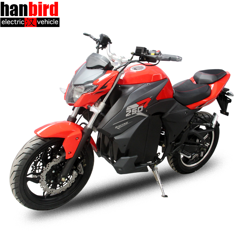 8000W Cool Racing Electric Motorcycle with 140km/h Speed for Adult