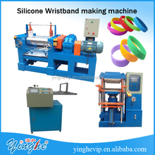 wristband making machine/embossed and debossed wristband/silicone wristband machine