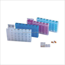 Plastic Pill Dispenser 7 Day Pill Box