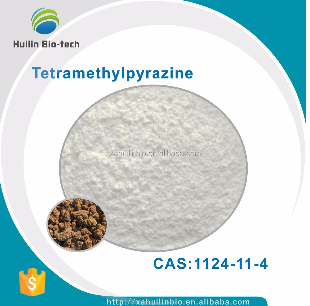 CAS:1124-11-4 Tetramethylpyrazine 98% Tetramethylpyrazine Powder