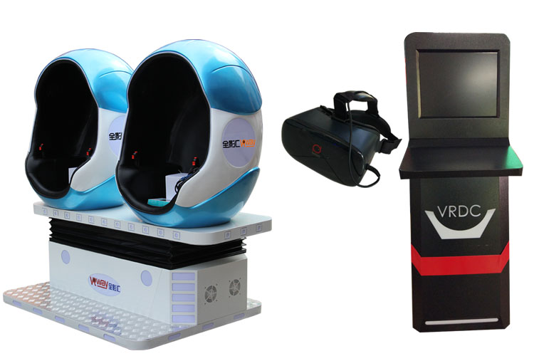 Virtual Reality Entertainment Equipment 360 degrees movies