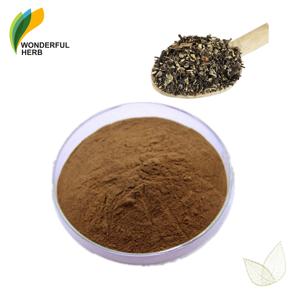 Low price Triterpenoid saponin powder Actaea racemosa extract black cohosh