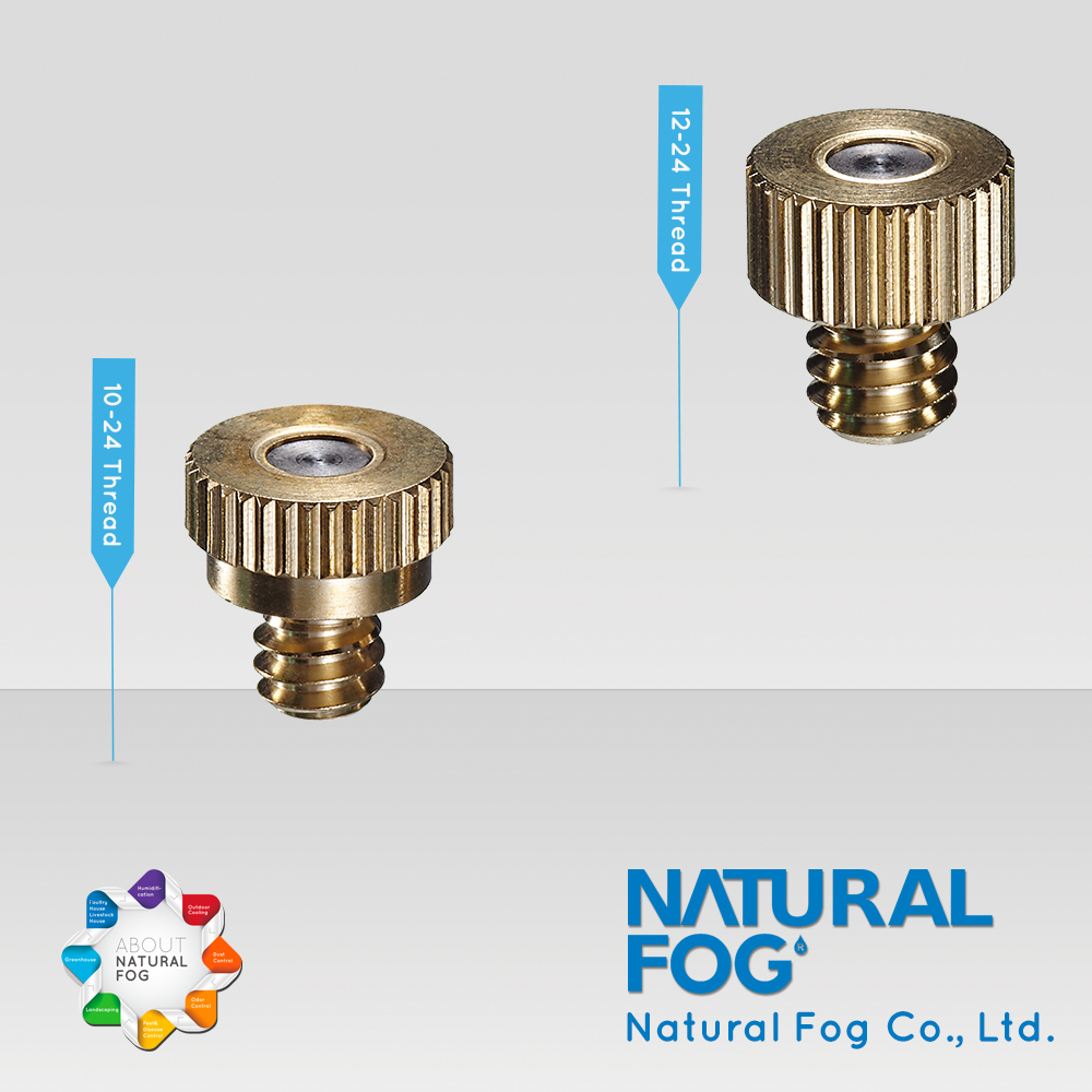 Taiwan Natural Fog Patented Temperature Control Anti Drip Brass Sprayer <strong>Nozzle</strong>