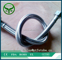 Stainless Steel Braided PTFE Teflon Hydraulic Rubber hose/pipe/tube