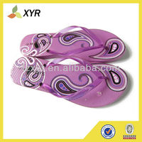 latest women pvc interchangeable velcro strap flip flops