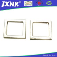 square type decorative shoe buckle