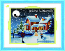 Decoration hand made cross stitch embroidery kit