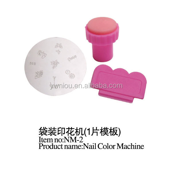 NM-2 professional portable Nail Art Color DIY Printing Machine Polish set