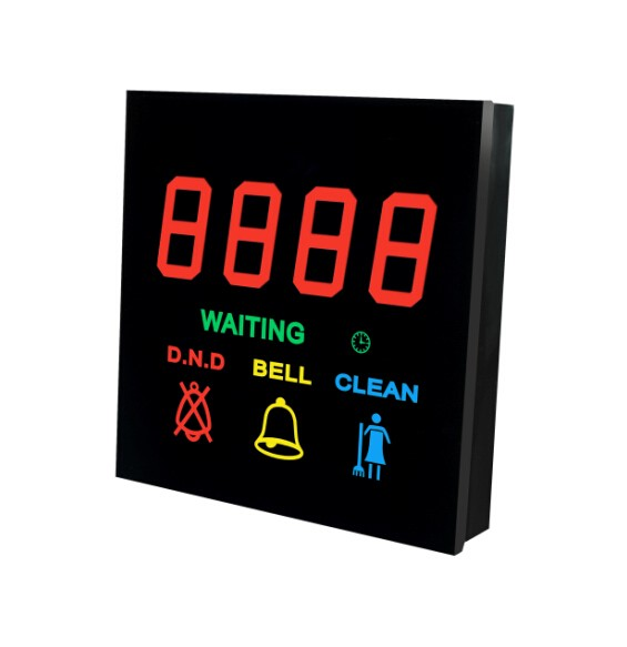 Electronic Changeable Room Number Sign Door Plate