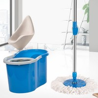 The newest design magic easy clean spin top mop 360