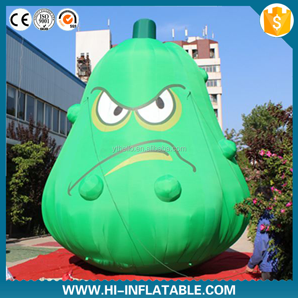 giant inflatable vegetable cartoon fruits and vegetables for advertising