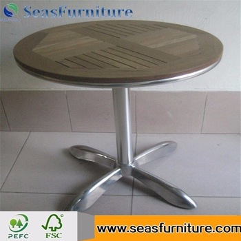 portable antique wooden table with zinc top wholesale online