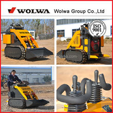 China good performance snow removal vehicles mini skid steer loader