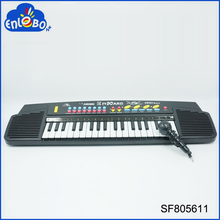 Musical keyboard 37key electric toy piano with microphone