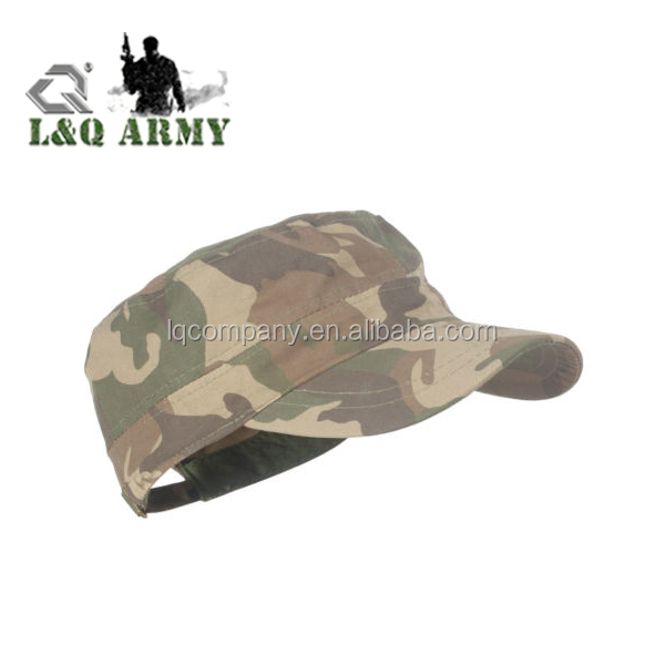 Men's Jungle Army Camo Trucker Baseball Cap Military Flat Visor Sun Hat