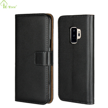 Card Slots Wallet Design Pu Leather Flip Phone Case For Samsung Galaxy S9 Plus