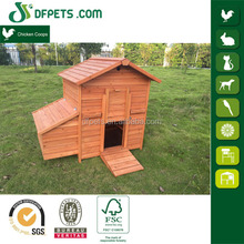 Outdoor animal cage for chicken coop