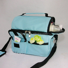 hot sale polyester thermal lined lunch cooler bag