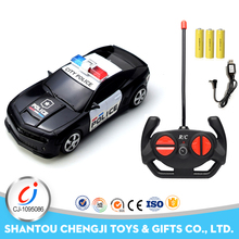 1:24 4CH simulation police toys high speed rc car fast off road