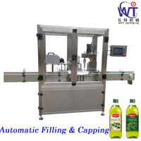 Fully Automatic High Speed Olive Oil Filling Screw Capping Machine