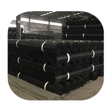 Biaxial plastic geogrid; Biaxial PP geogrid;