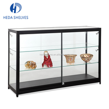 2017 New Design Jewelry Display Case Metal and Glass Retail Store Display Showcase Cabinet For Watches