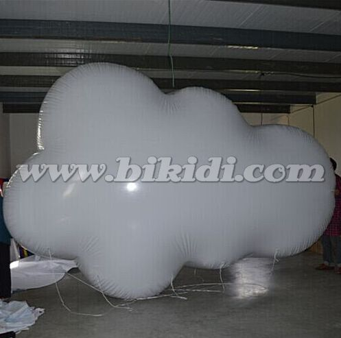Inflatable floating advertising helium balloon/ inflatable cloud sky balloon /custom giant advertising balloons K7016