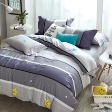 factory direct price 100% cotton custom printed bed sheet for home