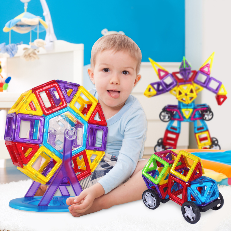 Top Grade Baby's magnetic building toys for children