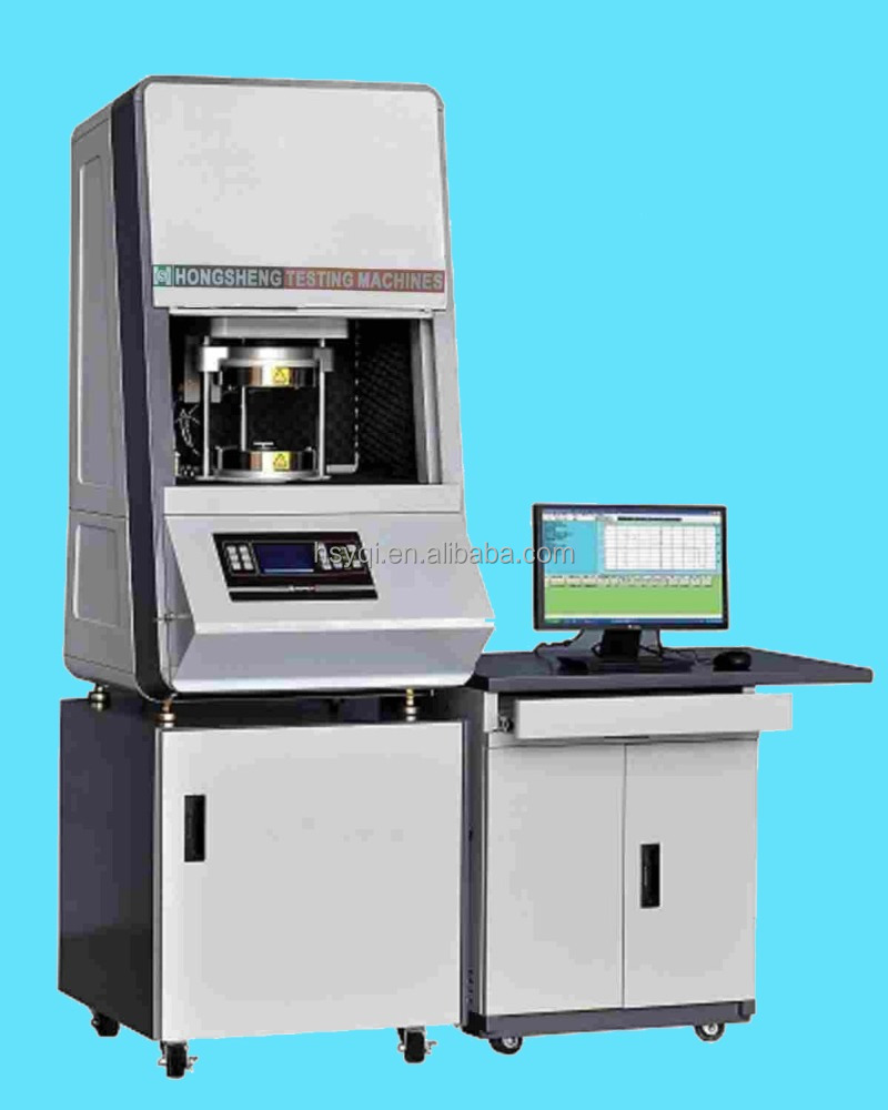 Computerize lab rotational mooney viscometer, viscosity testing machine