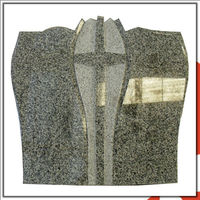 Chinese Polished Grey G623 Tombstone And Monument