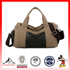 High Quality Canvas Leather Bag Travel Luggage Bag Sport Bag