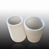 2016 wear resistant al2o3 tapered ceramic tubes for casting steel