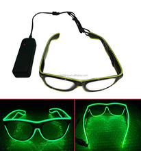 China Factory LED EL Wire Light Wholesale Price EL Wire Glasses Multi Color