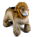 Coin Operated games ride on toy Battery Operated lion plush Animal Rider with music
