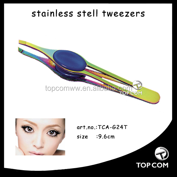 Professional makeup tweezer made in China