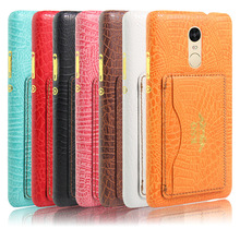 high quality leather flip case for xiaomi redmi note 3 back cover