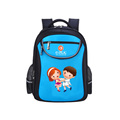 High quality customized cute printed multi-color travel waterproof backpack