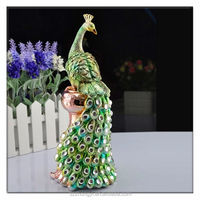 2014 hot new products peacock china wholesale home decoration
