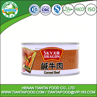 ready to eat halal 340G canned corned beef meat