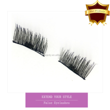 2017 New Arrival Silk Magnetic False Eyelash Hand Made Synthetic Magnetic Eyelashes