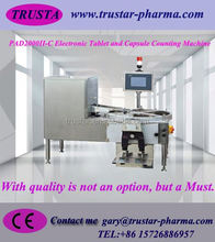 Manual single pan tablet counting machine tablet counter