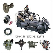 Chinese motorcycle GY6 175CC engine import to south America chinese motorcycle sale IMPORT