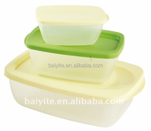 plastic food storage set, plastic lunch container set, plastic box