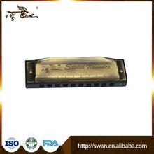Promotional 10hole 20tone special-tune boat-shaped harmonica